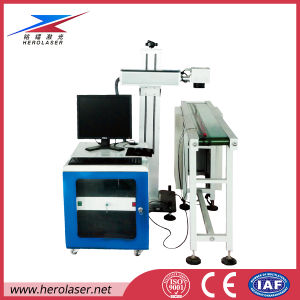Flying Marking, Printing Laser Machine for PVC Pipe Coding, Numbering