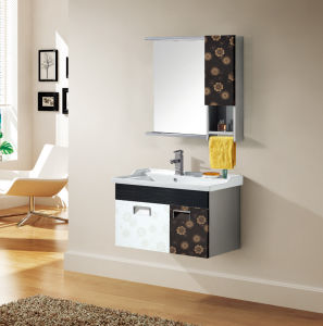 Stainless Steel European Style Bathroom Cabinet T-9496 pictures & photos