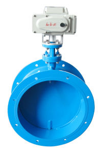 Electric Aeration Butterfly Valve pictures & photos