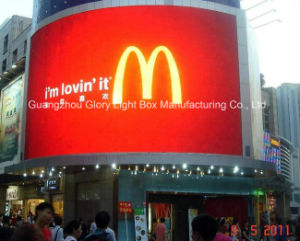 Mcdonald HD Full Color P20 LED Media Screen pictures & photos