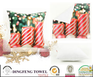Custom 3D Digital Printing Chirstmas Pillow Case/Cushion Cover pictures & photos