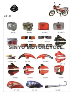 Hot Sell Chinese Wuyang Motorcycle Spare Parts pictures & photos