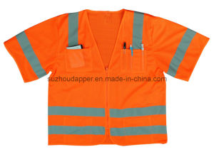 Surveyor Class 3 Safety Vest with Zipper (US036)
