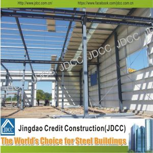 Color Steel Sheeting Light Steel Structure Workshop pictures & photos
