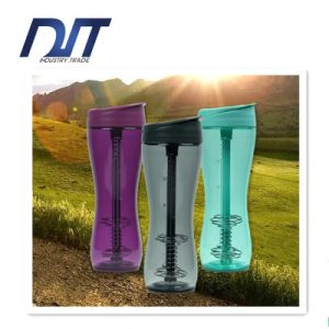 Protein Powder Shakes Juice Waist Leakproof Sports Cups Straw Space