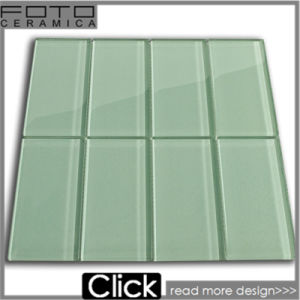 Green Subway Mosaic Tile for Bathroom