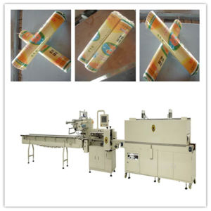 Fried Noodle Shrink Packaging Machine (SFR 450) pictures & photos