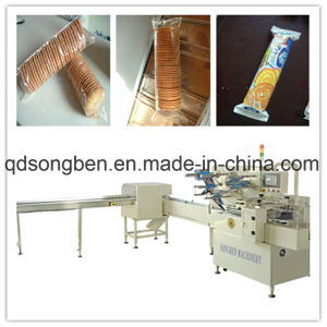 Waffle Trayless Packaging Machine with Feeder pictures & photos