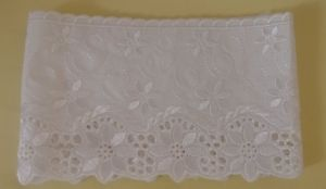 African Embroidery Cotton Lace Fabric
