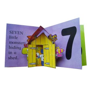 Pop-up Children Book Printing (OEM-CBOOK-97) pictures & photos