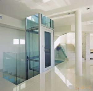 Good View Glass Door Panoramic Sightseeing Glass Home Elevator pictures & photos