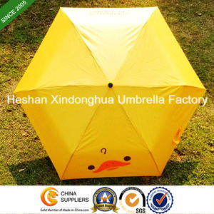 Promotional Three Fold Umbrellas with Customized Logo (FU-3621B) pictures & photos