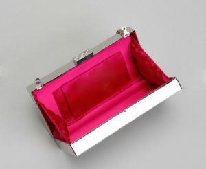 New Fashion Metallic Clutch Bags Evening Bag Women Bag (LDO-160959) pictures & photos