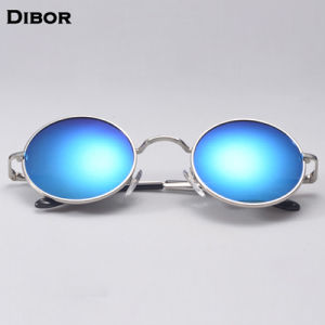 6506c39fc88 China John Lennon Round Frame Sunglasses with Round Lens Blue Mirror ...