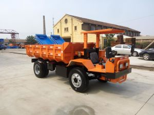 High Quality Diesel Mining Dumper Truck 195t with 4 Wheels Rear Dump