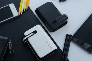 Power Bank with Built-in Bluetooth Headset