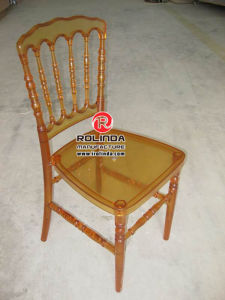 Modern Appearance Hotel Use Clear PC Resin Napoleon Chair pictures & photos