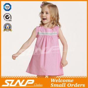 100% Cotton Kids Dress Clothing for Summer