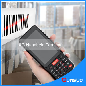 Large Screen 4G Lte Bluetooth Handheld Mobile Pdas Android Barcode Scanner