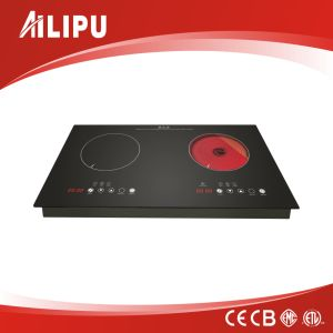 OEM Two Burner Electric Cooktop with Multi-Function pictures & photos