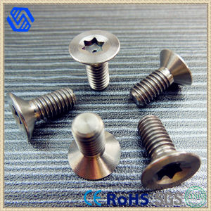 Best Quality Titanium Countersunk Head Screws for Aircraft DIN7991 pictures & photos