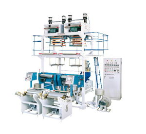 HDPE/ Ldpetwo-Head Blown Film Machine