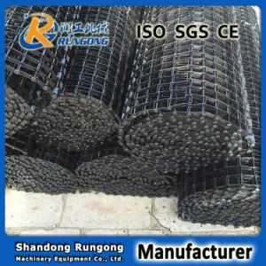 Stainless Steel Horseshoe Chain Wire Mesh Conveyor Belt pictures & photos