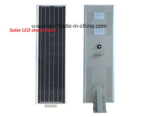 All-in-One Integrated Solar LED Street Light 10-80W