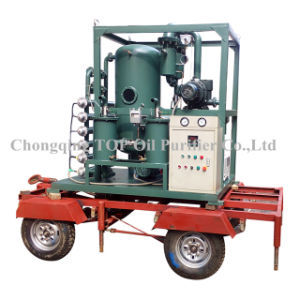Trailer Type Vacuum Industrial Lubricant Oil Cleaning Equipment (TYA) pictures & photos