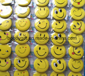 Custom Size Emoji Design Button Pin Badge for Sales pictures & photos