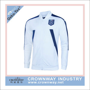 Men Sports Track Soccer Jacket with Custom Embroidery pictures & photos
