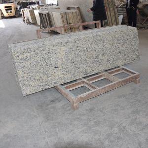 Chinese Supplier Cheap River White Granite Kitchen Island