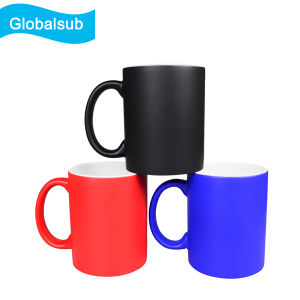 Heat Sensitive Color Changing Mug for Sublimation Printing 11oz