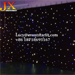 Stage Backdrop LED Falling Star Lights Cloth LED Curtain Backdrop Fabric