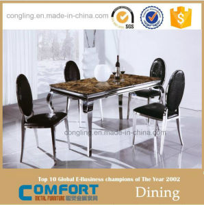 Marble Rectangle Cheap Restaurant Table and Chair