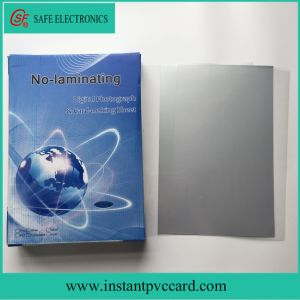 Non-Laminated PVC Card Material Sheet Printing by Epson or Canon Printer pictures & photos