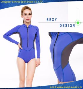 Neoprene Woman E2 80 B2s Flexible Sexy Diving Equipment Spearfishing Surfing Suit Free Sample