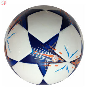 PVC Machine-Sewn Soccerball pictures & photos