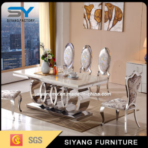 High Quality Kitchen Furniture Metal Dining Table