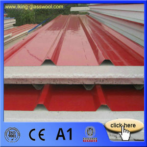 Heat-Resistant EPS Sandwich Roof Panel with Fsk pictures & photos