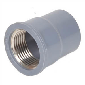 PVC Copper Threaded Tee pictures & photos