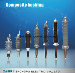 12kv 24kv 40.5kv 72.5kv 126kv Composite Dry Wall Bushing pictures & photos