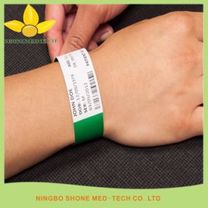 Disposable Hospital Patient ID Band pictures & photos