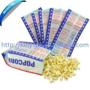 Custom Popcorn Packaging Paper Bag Microwave