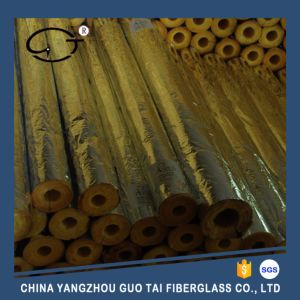 Heat Insulation Glass Wool Pipe Section for Building pictures & photos