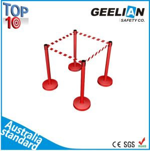 Crowed Control Queue Retractable Rope Stanchion Belt Barrier