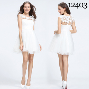 824ae512d China Exquisite White Lace Customize Size Flower Girl Dress Fashion ...