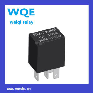 Miniature Automotive Relay PCB& Plug-in Mounting Methods 25A 14VDC Auto Parts (WLFM) pictures & photos