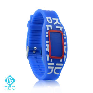 Long Range RFID Wristband Tags for Sport Event NFC Silicone Bracelet