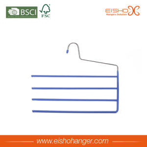 High Quality PVC Metal Hanger with 4 Branches (3MXX0021) pictures & photos